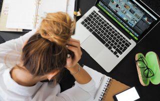Rygsmerter stress